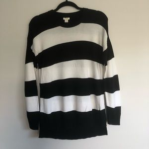 J Crew Striped Sweater